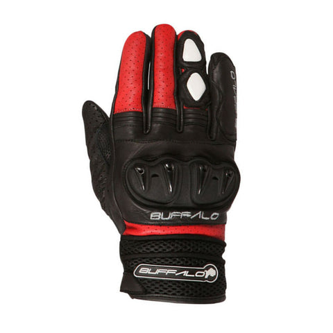 Buffalo Ostro Gloves | Black | Red