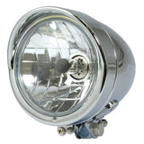 Chrome Headlights - Bullet Triangle Headlight