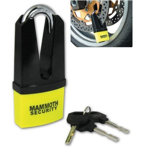Mammoth Maxi Disc Lock