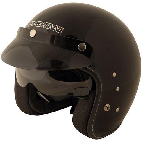 Duchinni D501 Helmet - Gloss Black