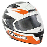 Full Face Helmets - Stealth Carbon Kevlar GP Replica HD117-Orange