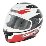 Full Face Helmets - Stealth Carbon Kevlar GP Replica HD117-Red