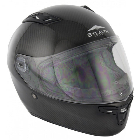 Stealth Carbon Kevlar HD117 Helmet - Carbon
