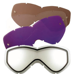 GP Pro Goggles Replacement Lenses - Clear x 2