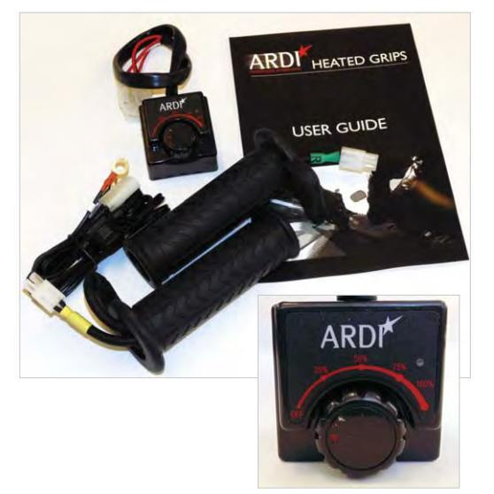 Image of Ardi Heated Handlebar Grips