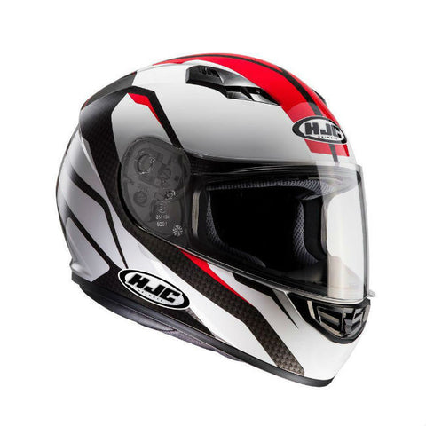 HJC CS-15 Sebka Helmet - White | Red