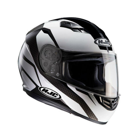 HJC CS-15 Sebka Helmet - Black | White