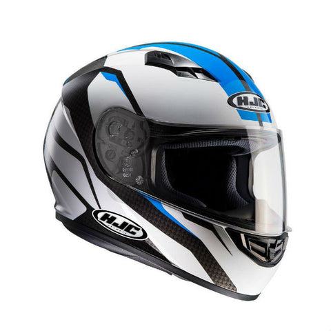 HJC CS-15 Sebka Helmet - White | Blue