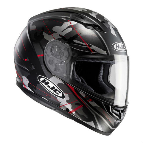 HJC CS-15 Songtan Helmet - Black | Red