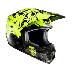 HJC CS-MX 2 Graffed Helmet - Black | Fluo