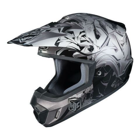 HJC CS-MX 2 Graffed Helmet - Black | Grey