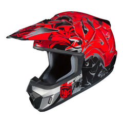 HJC CS-MX 2 Graffed Helmet - Black | Red