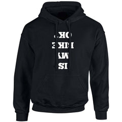 'Is My Bike Okay?' Biker Hoodie