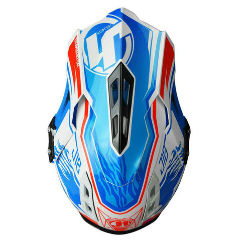 JUST1 J12 Dominator Carbon Helmet - Red | Blue