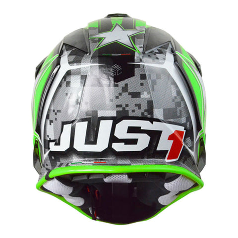 JUST1 J32 Kids Helmet - Green