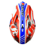 JUST1 J32 Rave Helmet - Blue | Red