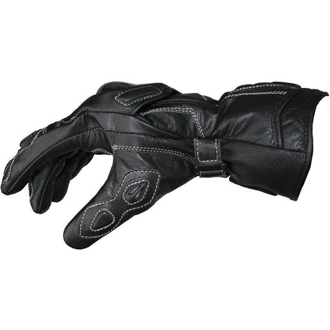 BikeTek Leather Summer 'PROTECTOR' Gloves