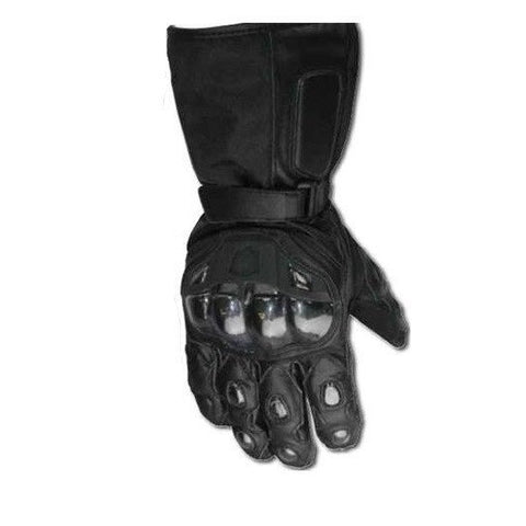 BikeTek Leather/Textile 'PROTECTOR' Gloves