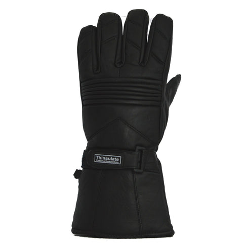 LDM Thermoline Leather Winter Gloves w/Waterproof Layer