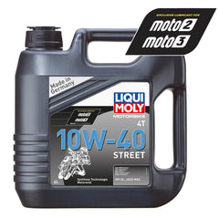 Liqui Moly Street Semi Synth 4-Stroke Oil - 4L
