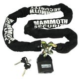 Lock & Chain Sets - Mammoth 12mm Hexagon Lock & Chain