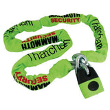 Lock & Chain Sets - Mammoth Premium 1.8m Lock & Chain Set