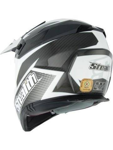 Stealth Kevlar GP Replica HD210 Helmet - Black
