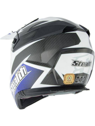 Stealth Kevlar GP Replica HD210 Helmet -Blue