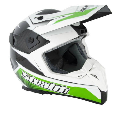 Stealth Kevlar GP Replica HD210 Helmet -Green