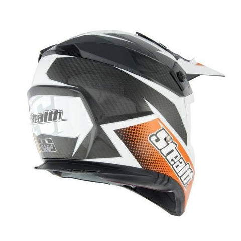 Stealth Kevlar GP Replica HD210 Helmet -Orange