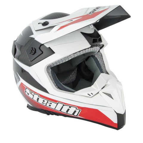 Stealth Kevlar GP Replica HD210 Helmet -Red