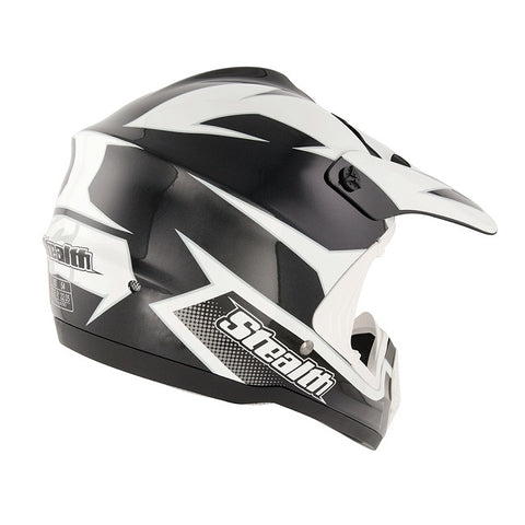 Stealth Youth GP Replica HD204 Helmet -Black
