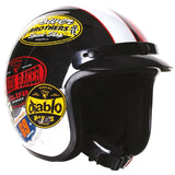 Open Face Helmets - Stealth Open Face Fibre Glass HD320-Classic