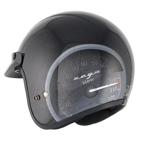 Stealth Open Face Fibre Glass HD320 Helmet -Speedo