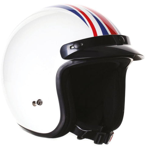 Stealth Open Face Fibre Glass HD320 Helmet -Union Jack