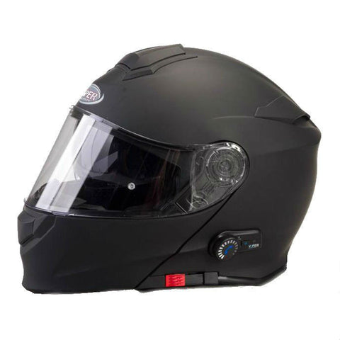 Viper RSV171 BL+ 3.0 (Bluetooth) Helmet - Matt Black