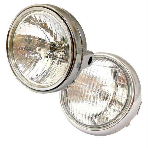 ABS Universal Chrome Headlights