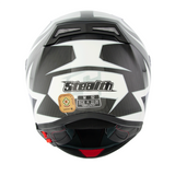 Stealth Carbon Kevlar GP Replica HD117 Helmet -Red