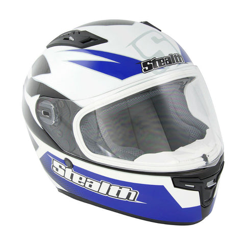 Stealth Carbon Kevlar GP Replica HD117 Helmet -Blue