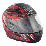 Stealth Youth Razor HD127 Helmet -Razor Red