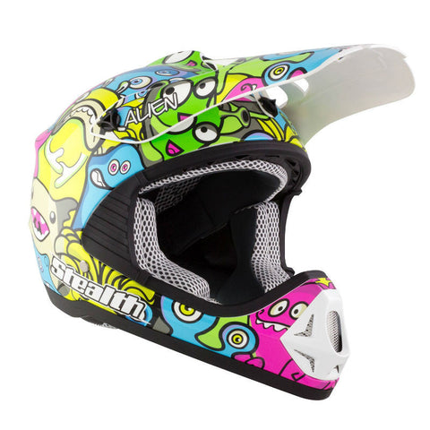 Stealth Youth GP Replica HD204 Helmet - Aliens