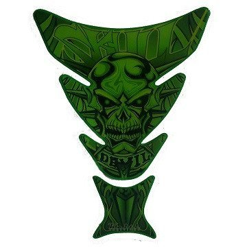 Green Skull Style Tank Protector