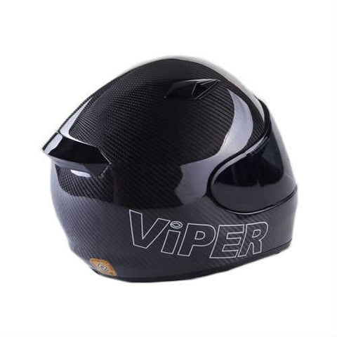 Viper RS1010 Helmet - Solid Carbon