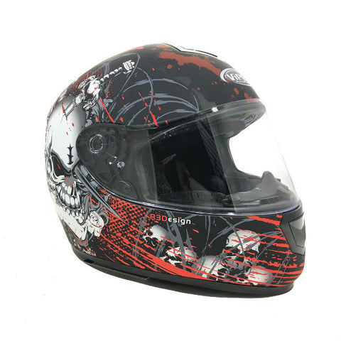 Viper RS250 Morte Helmet - Matt Red