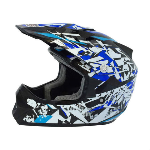 Viper RSX13 Craze Kids Helmet - Black | Blue