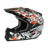 Viper RSX13 Craze Kids Helmet - Black | ReD