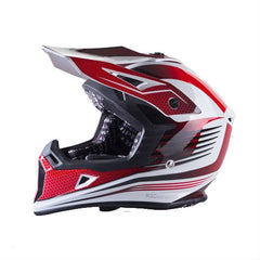 Viper RSX95 Helmet - White | Red