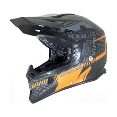 Viper RSX99 Attitude Stereo Helmet - Black | Orange