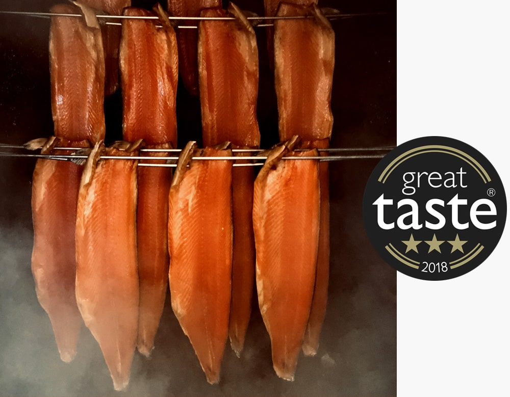 Alfred Enderby Traditionally Smoked Salmon Wins At Great Taste Awards