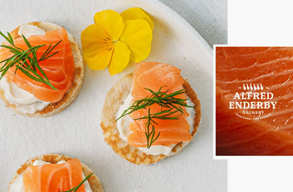 Smoked Salmon Canapès | Alfred Enderby Smoked Fish